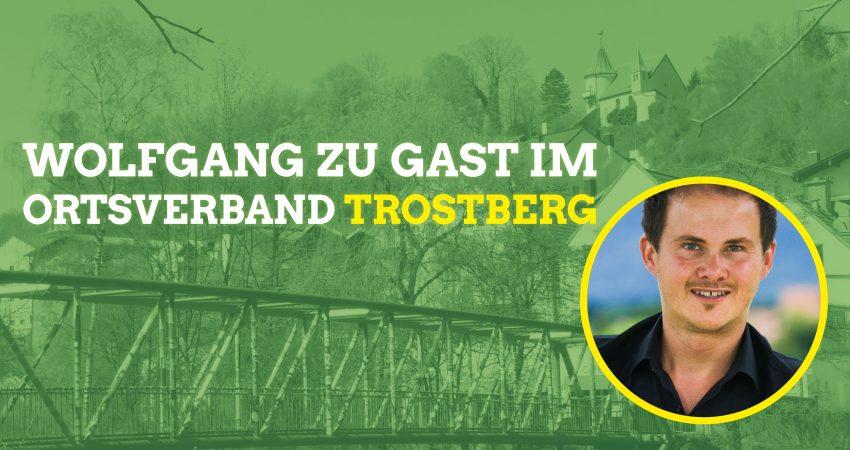 Wolfgang zu Gast im OV Trostberg